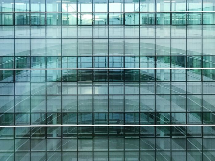 Built Structure Building Exterior Reflection Architecture Full Frame Backgrounds No People Day Glass - Material Building Modern Pattern Window Shape Geometric Shape Office Building Exterior Outdoors Design Office