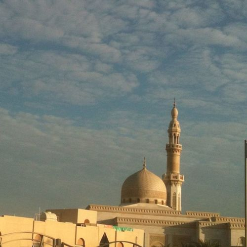 Dubai my lovely cityUsetag Dubai Emirates IPhone iphoneonly myipione masjid morning viewsunrise seen