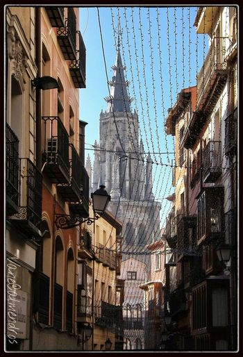 Cathedral of Toledo (Spain) from Comercio's Street Traveling Streetphotography Street SPAIN