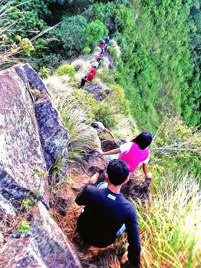 High Angle View Hikingadventures Hiking❤ Outdoors Togetherness Hiking, Mountains, Adventure Hiking Photography Faceyourfear EyeEmNewHere