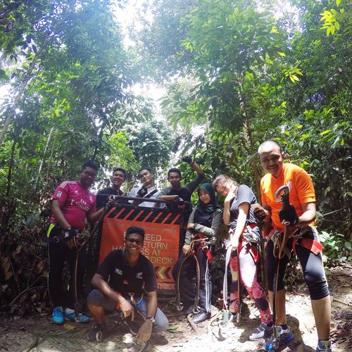 Hi! Enjoying Life Cheese! That's Me Check This Out Jungling Session Adventure Adventure Time Skytrex Malaysia Malaysia Scenery Nature