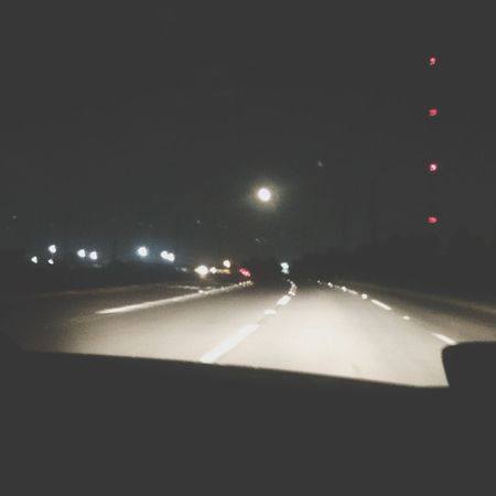 Supermoon 2014 beatiful view! Going home after DinDin ???? Pho