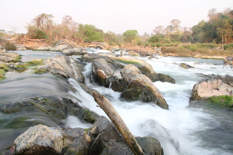 4000 Islands Backpacking Learning Beauty In Nature Day Different Perspective Dondet Landscape Laos Laos, Lao Trip Long Exposure Motion Nature No People Outdoors River Scenics Tranquil Scene Tranquility Tree Trip Photo Trying New Things Water Waterfall