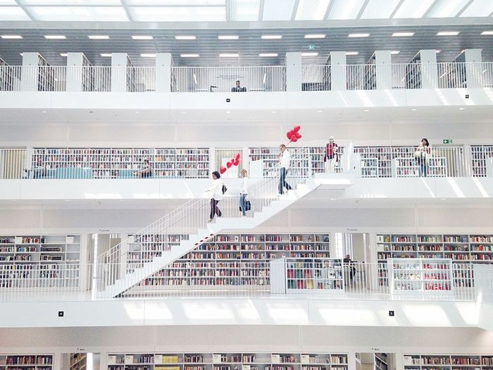 People At Stadtbibliothek Stuttgart