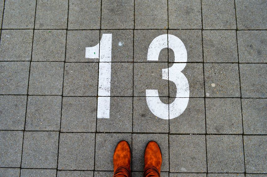 13 Number Number 13 Personal Perspective Standing Human Body Part Low Section One Person Outdoors Human Leg Information Sign Road Parking Space Walking Around City Urban Perspectives Urban Simplicity Pattern Minimal Minimalism Minimalobsession Minimalist