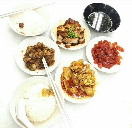 Food Foodporn Big Chunks Of Meat Seashells Rice Field Chopsticks
