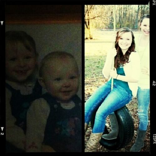 My Girls Then And Now