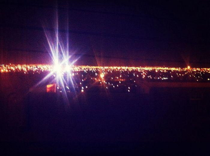 Arica, nighttime