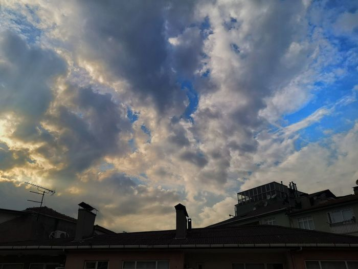 City Roof Sky