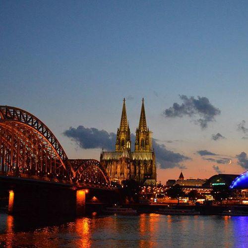 Welcome to CGN Köln Cologne Kölnerdom Cologneatnight
