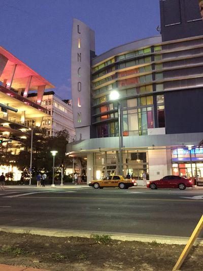 Real theatre on Lincoln road. South beach Miami