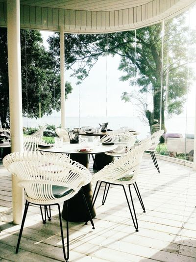 Restouran, summer, ocean, air, cafe, sun Hungry Good Service Great Atmosphere First Eyeem Photo