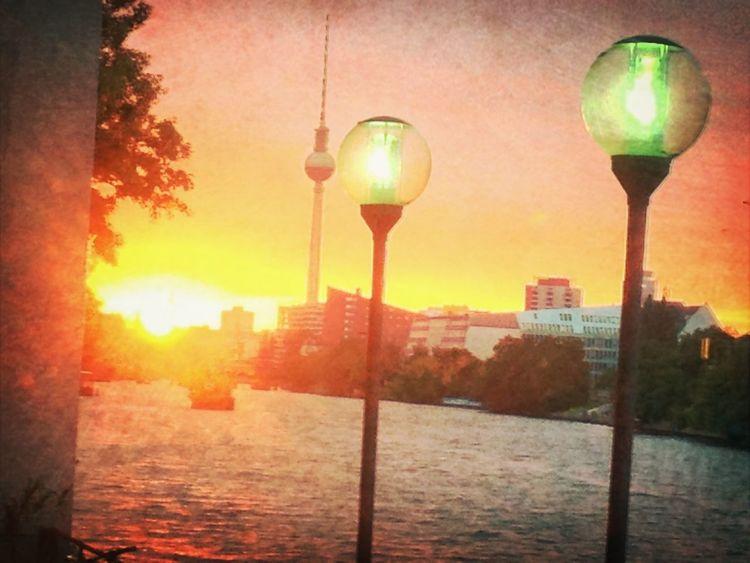 Berlin Sunset Sunset Orange