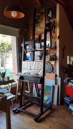 Atelier Arte Pintor Atril Art Studio Chair