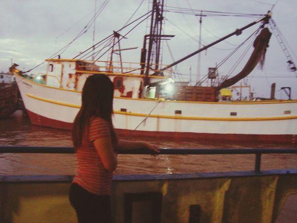 Tbt ❤ Color Portrait Boat River