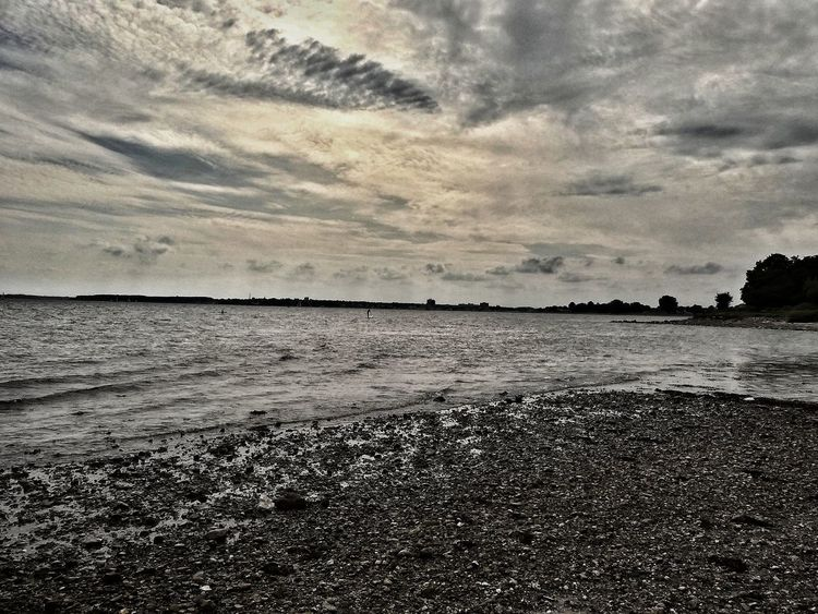Beach Nature Cloud - Sky Beauty In Nature Outdoors Horizon Over Water Day Sea The Week On EyeEm Silence Moment Year Cycle Silence Of Nature Outdoorlife EyeEm Nature Lover Eyeemphotography Beautiful Day From My Point Of View August2017 Summer Sea Life Outdoors Photograpghy  Dramatic Clouds Eyemphotography Dramatic Photo