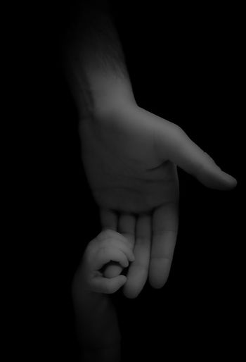 ••• he will hold her hand no matter what 💕 Cutekids Daddysgirl Blackandwhite Babygirl Holdinghands Holding Fatherdaughter Babygirl Studio Shot Newborn Close-up People Togetherness Indoors  Childhood Holding Bonding Day