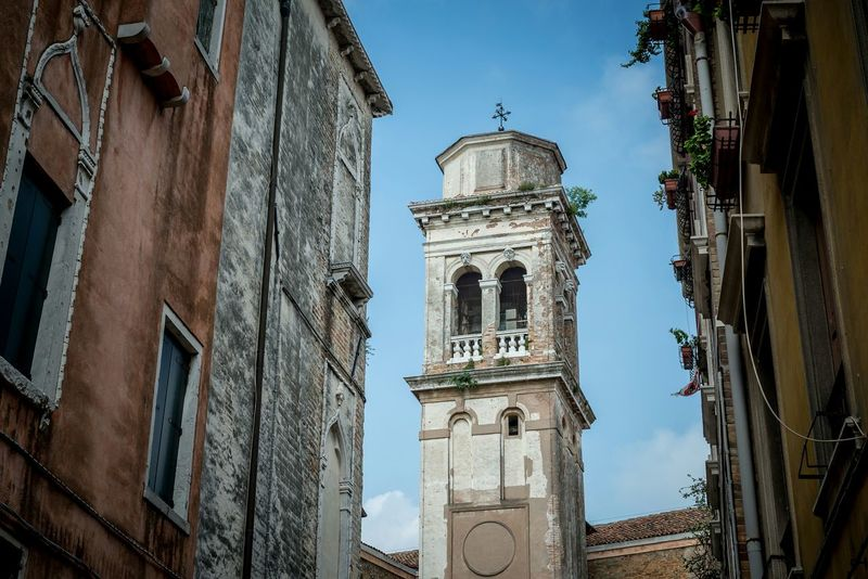 Tower in Venice from my vacation in Venice this summer Venice Venedig Vacation Italy Tower Architecture Old Antique Historical Building Summer2015