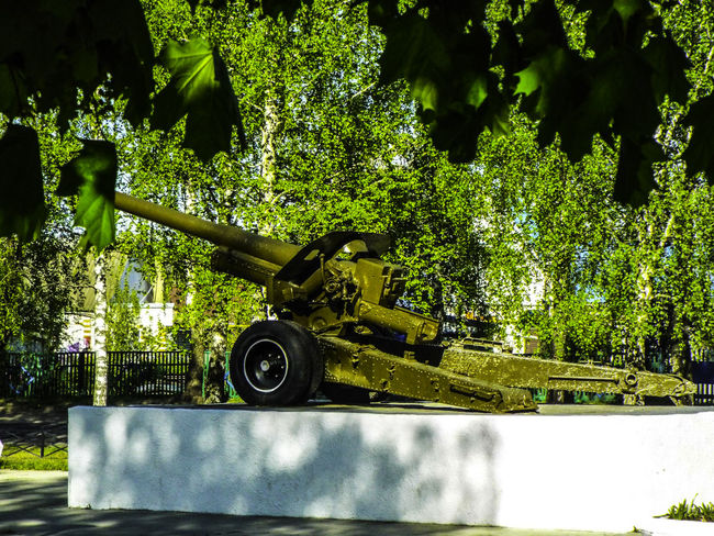 1945 May война Memory памятник прошлое пушка 9мая🎆🎇😆 Локоть Sky