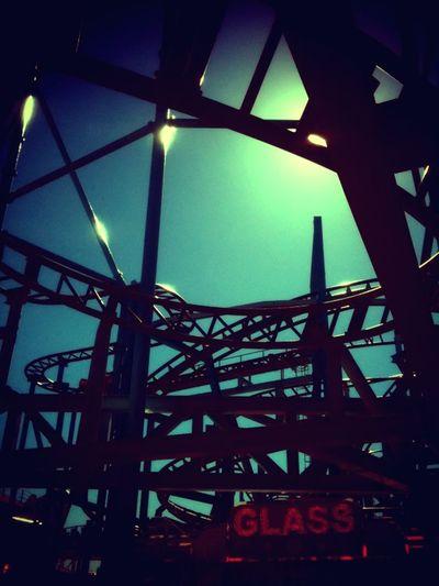 Arts Culture And Entertainment Fun Fair Gröna Lund Light Roller Coaster Summerholidays Sunshine Sunshine At Fun