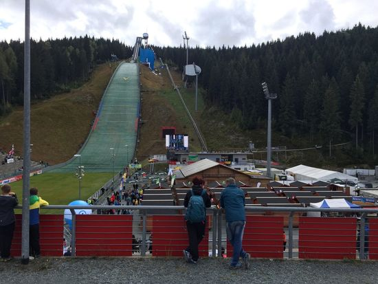 Hanging Out at the ol Ski Jumping Hill -