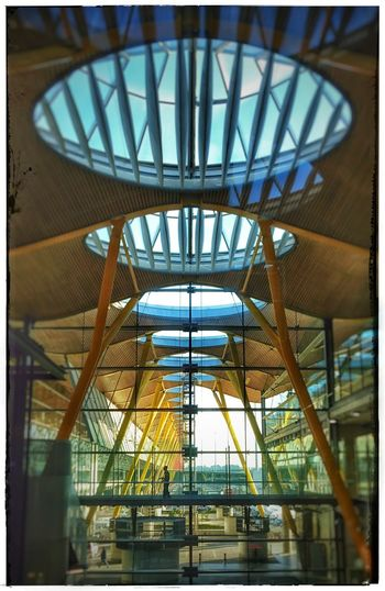 Airport Madrid Barajas Airportview Architecturelovers Architecture_collection Architectureporn