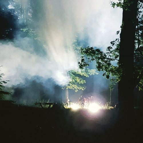Hamburg Meute Fog Nebel Party Techno