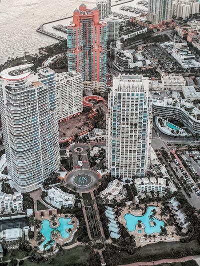 Miami by air