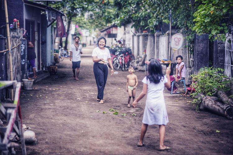 Daily Life at Gili Trawangan, Indonesia