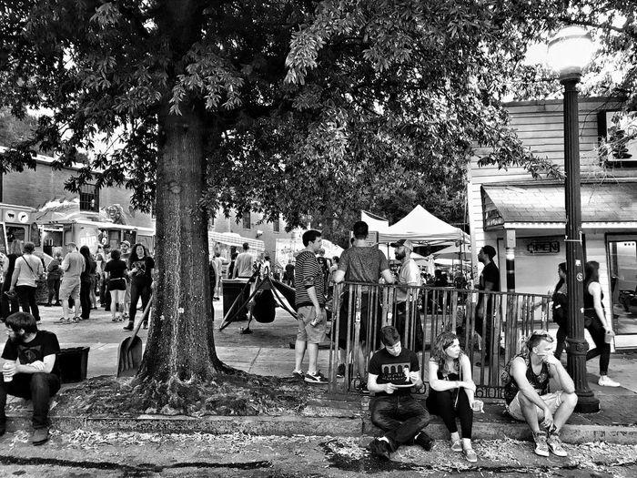 Concert Streetphotography Blackandwhite