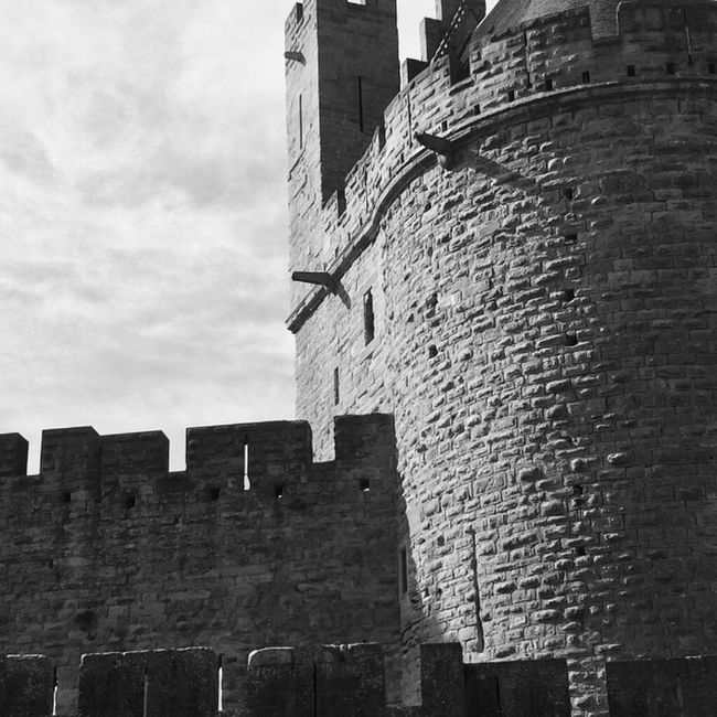 Carcasonne Carcassonne Burg Castle France Mittelalter IPhoneography The Places I've Been Today Summer