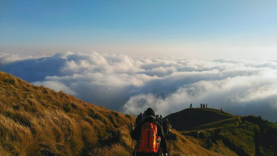 EyeEmNewHere Sea Of ​​clouds New At The Sight Of The Horizon Summit Of 2922 Masl Wanderlust