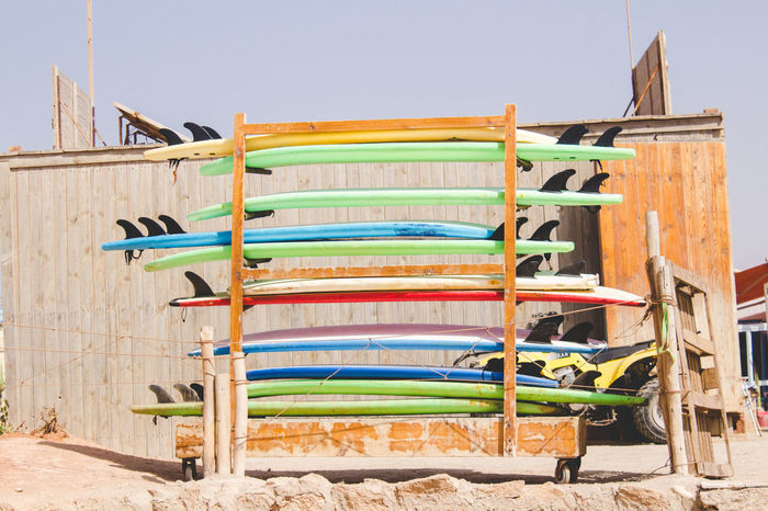 Surf Boards in Tamraght, Morocco Lifestyle Morocco Morocco 🇲🇦 MoroccoTrip Surf Surf Boards Surf Break Surfing Board Day Lifestyles Multi Colored Nature No People Outdoors Surf Beach Surf Board Surfing Surfing Beach Surfing Boards Surfing Life Surfing Paradise Surfingphotography Taghazout Taghazout Bay Taghazout Surfing