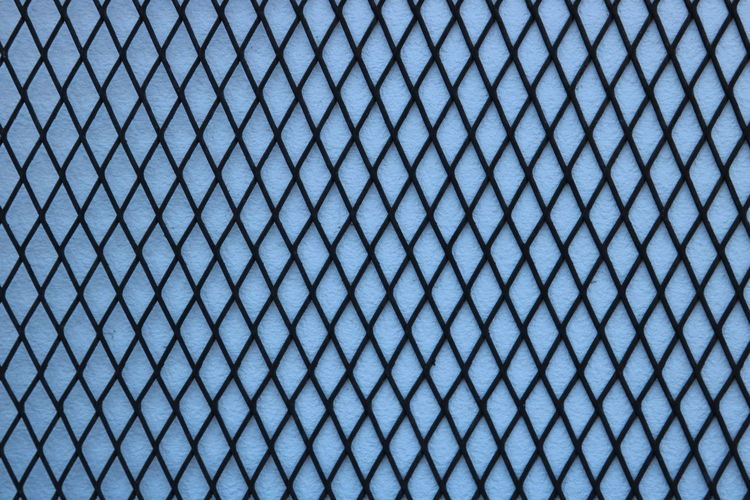 Backgrounds Pattern Full Frame No People Blue Textured  Security Close-up Safety Day Protection Metal Abstract Nature Wire Fence Outdoors Design Wire Mesh Sheet Metal Alloy