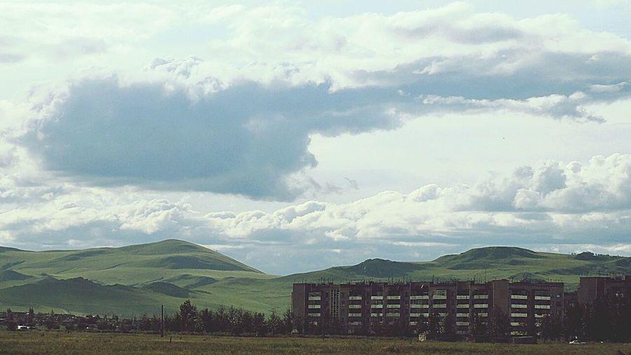 Landscape_Collection Landscape_photography Green Green Green!  Sky_collection Sky Summer ☀ Beutiful :) Happy Rest & Relax Memories #Krasnokamensk