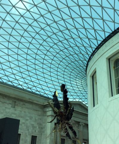 British Museum LONDON❤ Travelphotography Geometric Lines