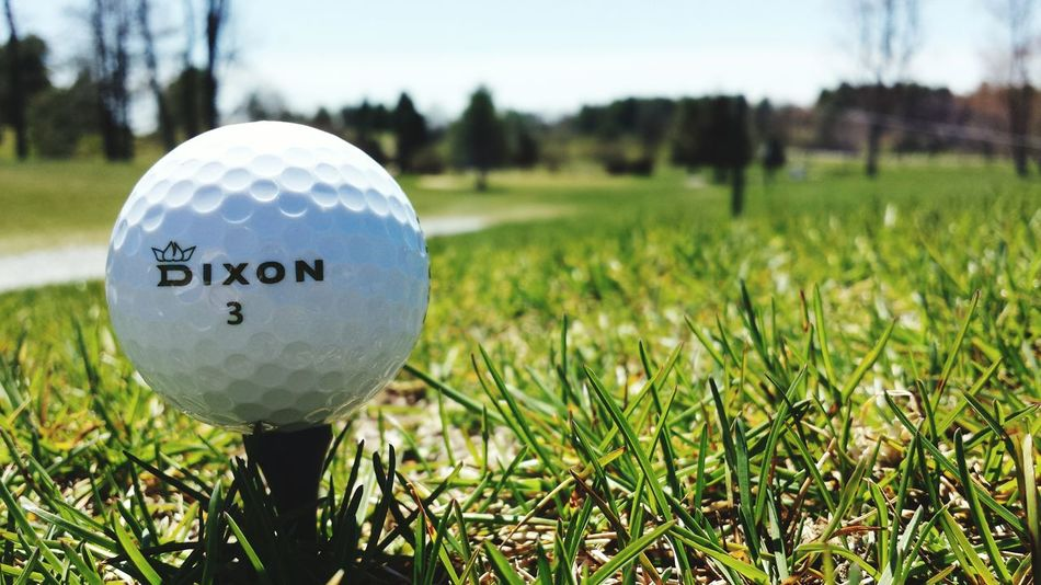 Dixon golf first environmentally friendly high performance golf ball Enviornmental First Eyeem Photo