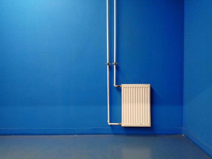 Architecture Blue Light Blue Corrugated Iron Concrete Wall Blue Background Floating In Water The Minimalist - 2019 EyeEm Awards Wall - Building Feature No People Indoors  Copy Space Built Structure Metal Day Close-up Flooring Empty Railing Wall Still Life Connection Technology Hygiene White Color Silver Colored Clean