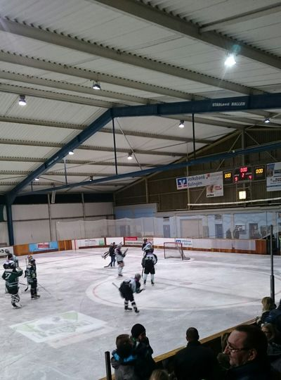 Icehockey Sport Time watching our local icehockey team: EC Eisbären Balingen. Win 9:4