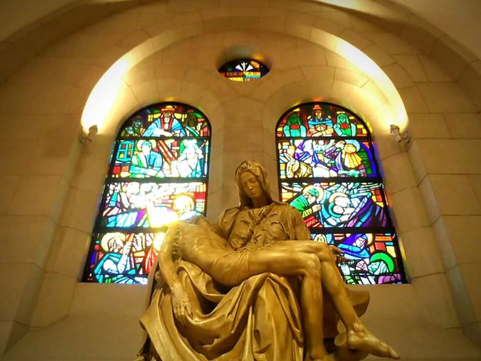 ⛪ Statue Pieta Mary And Jesus Christ Died For Us Faith Manila Cathedral Manila, Philippines Intramuros, Manila Eyeem Philippines EyeEm Manila Philippine Churches 43 Golden Moments