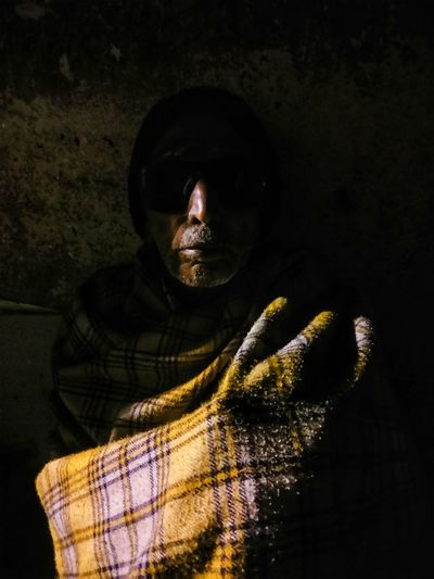 Darkness Time Getty Images Life Documentary BBCTravel Magnumphotos Black Background Studio Shot Shadow Portrait Close-up