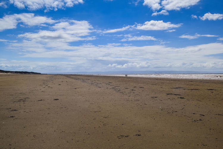 Sky Land Beach Sea Cloud - Sky Water Sand Scenics - Nature Beauty In Nature Tranquil Scene Tranquility Nature Day Outdoors Beach Photography Horizon Horizon Over Water No People Blue Non-urban Scene Remote Space For Text Space For Copy