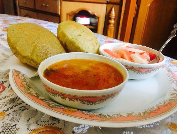 Puri aaloo Food First Eyeem Photo