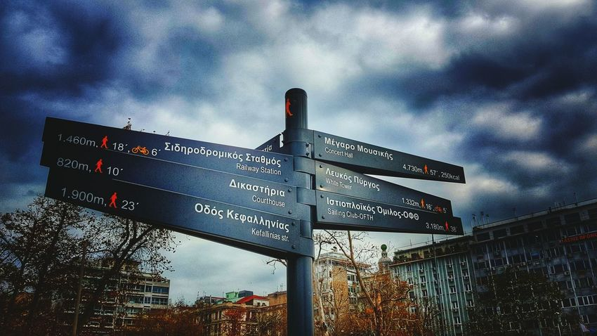 Road Signs Directioner Which Way To Go? Where To Go? Walking Around The City  Explore The World