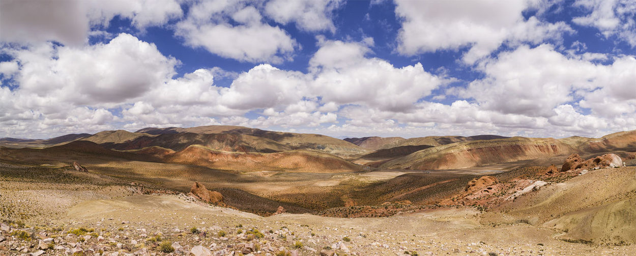 Montana Nubes Argentina Height Landscape No People Paisaje Sky Tranquility