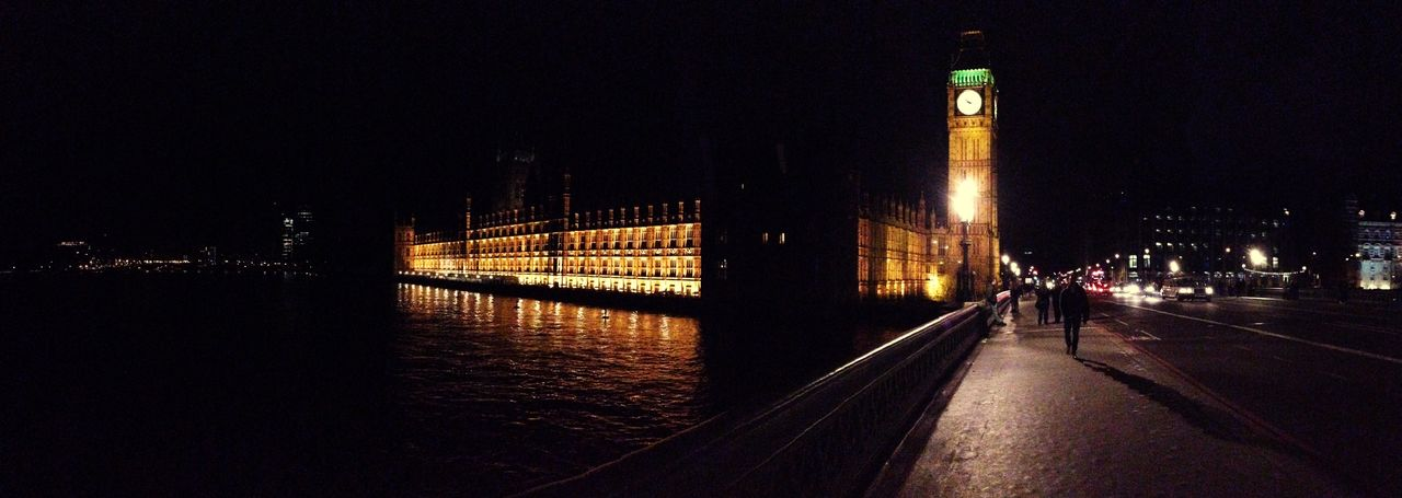 London Thames House Of Parliament Night