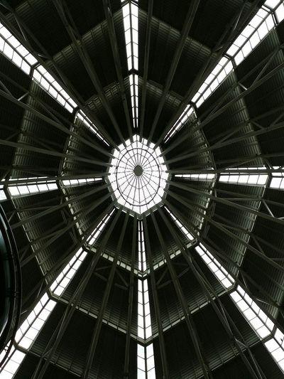 Looking up at Suria KLCC .