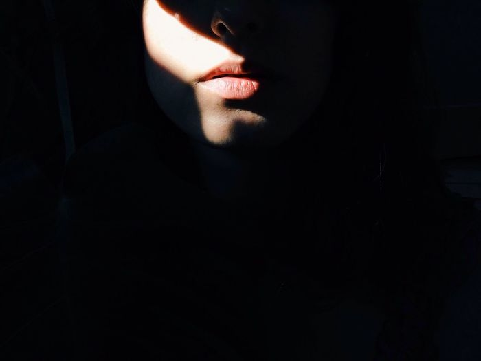 Lips Woman Portrait Of A Woman shadow Light And Shadow Lips Darkness And Light Creative Light And Shadow EyeEm Best Shots Gettyimages Getty X EyeEm People Best Portrait A New Perspective On Life Capture Tomorrow