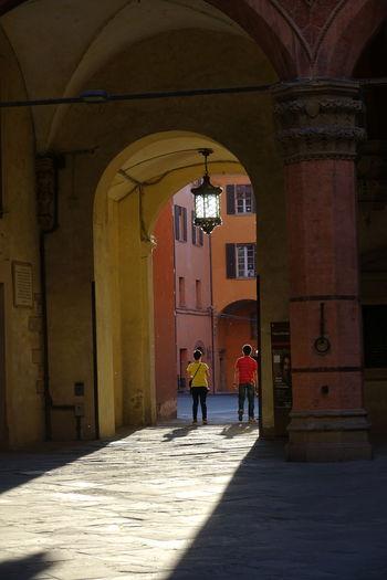 The Street Photographer - 2017 EyeEm Awards Walking Around Seesighting Tourism Two People Downtown Bologna
