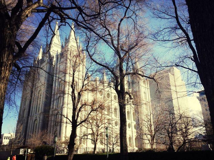Temple Square Utah UT Salt Lake City